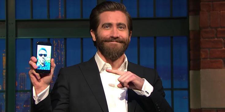 Jake Gyllenhaal Ryan Reynolds FaceTime Late Night Long