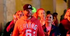 Demi Lovato And Mystery Man At Universal Horror Nights Romance Mike Johnson Over
