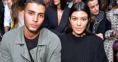 Kourtney Kardashian Younes Bendjima Hold Hands Back Together