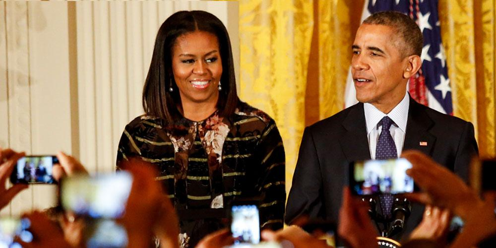 Barack Obama] Says There Was 'Underlying Tension' In His Marriage To [Michelle] While President