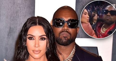 Kanye West Snubs Kim Kardashian On Kiss Cam At All-Star Game