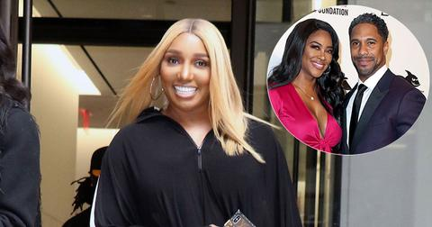 NeNe Leakes Smiling Kenya Moore And Marc Daly Inset