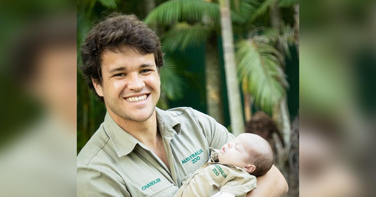 bindi irwin daughter grace sports austalia zoo khakis steve irwin chandler powell