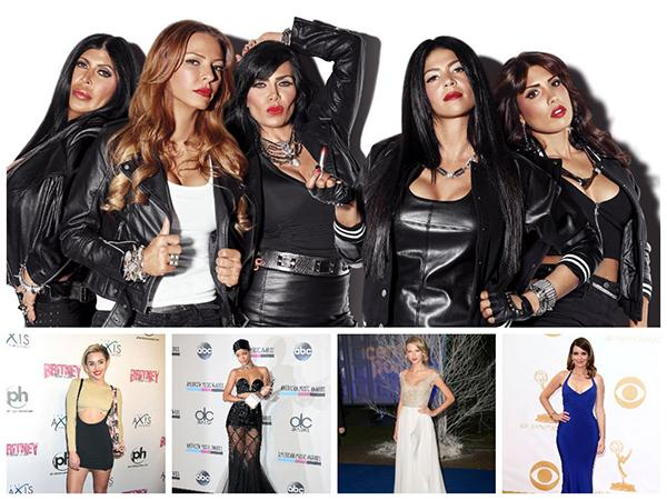 Mob Wives and Celebrity Friends