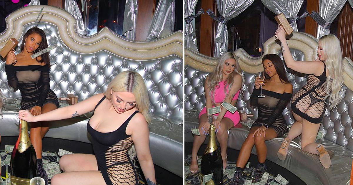 sydney chase appearance at strip club