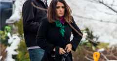 Salma Hayek hospital head injury 05