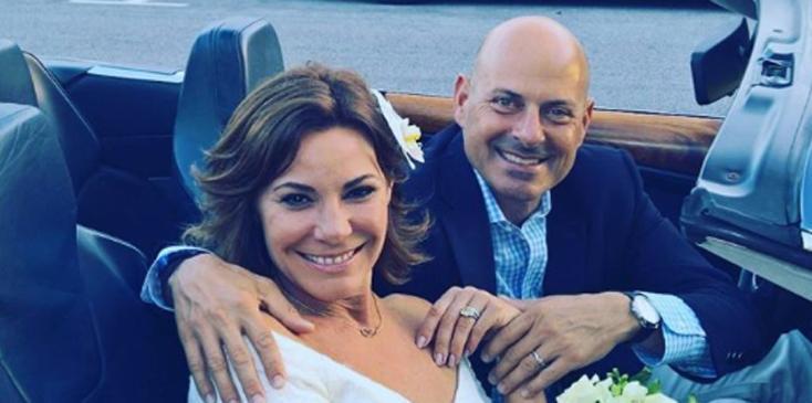 Luann de lesseps wedding honeymoon tom dgostino cheating scandal rhony hero