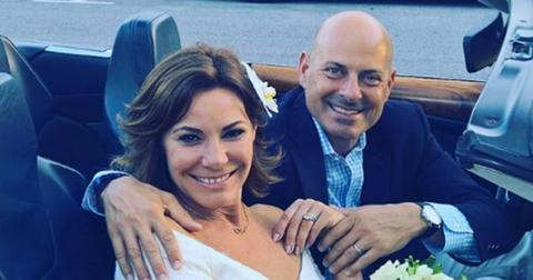 Luann de lesseps wedding honeymoon tom dgostino cheating scandal rhony hero