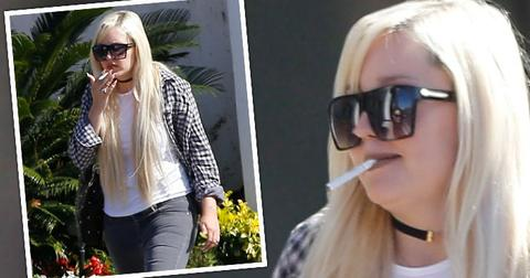 amanda bynes smoking weight gain