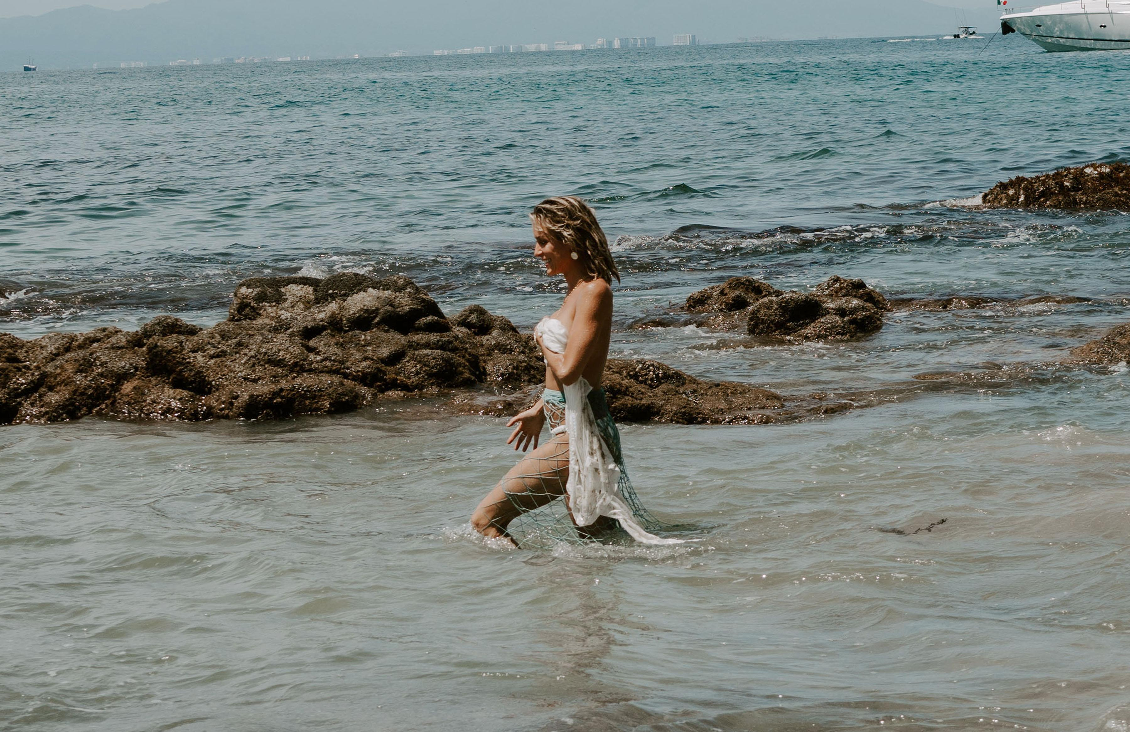 EXCLUSIVE: Kristin Cavallari shooting Uncommon James campaign in Mexico