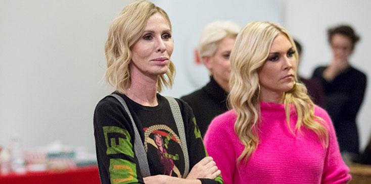 Real housewives of new york carole says shes not close tinsley video