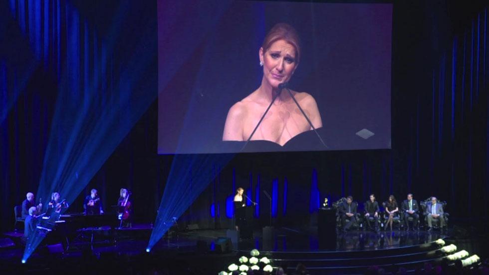 Celine dion memorial speech las vegas