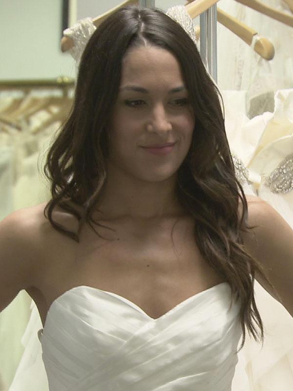 Brie bella wedding dress
