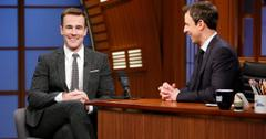 James Van Der Beek and Seth Meyers