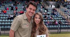 bindi irwin chandler powell welcome baby girl grace warrior irwin powell