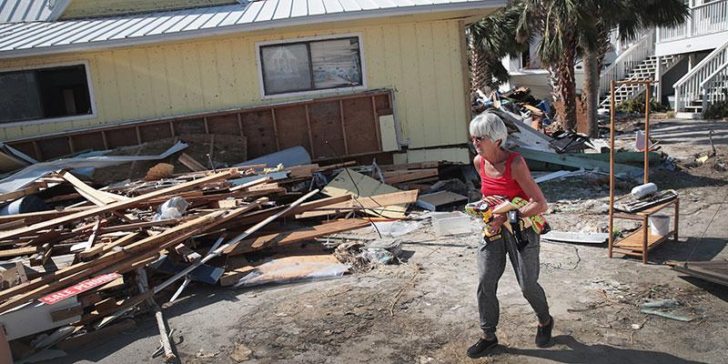Luke bryan mom home destroyed hurricane michael main