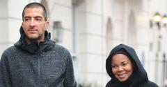 *PREMIUM EXCLUSIVE* Janet Jackson and  Wissam Al Mana step out for the first time since announcing pregnancy