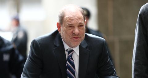 Harvey Weinstein arrives at Manhattan Criminal Court