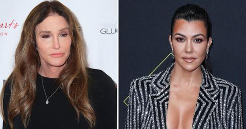 kourtnet kardashian leans on caitlyn jenner pp