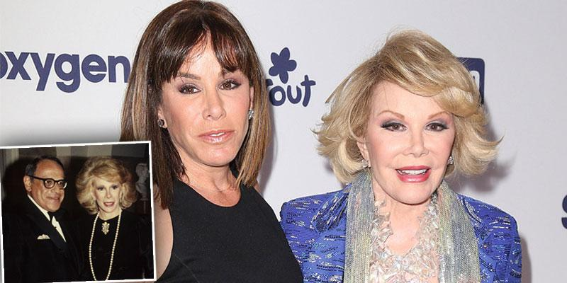 Joan Rivers & Daughter's Relationship Shattered After Husband's Suicide