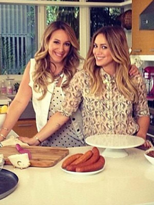 Hilary haylie duff cookbook