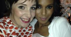 Lena Dunham Kerry Washington