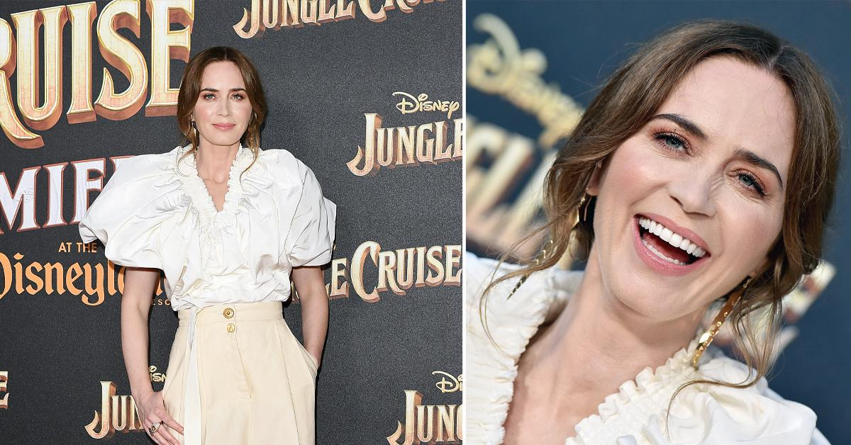 emily blunt jungle cruise world premiere ok