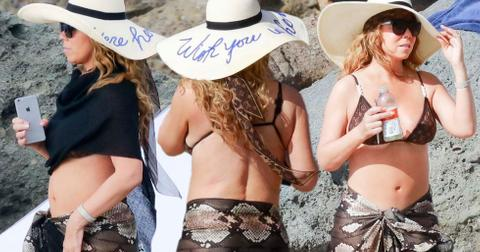 mariah carey bikni photos