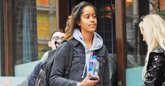 *EXCLUSIVE* Malia Obama is back at The Weinstein Company after her stalker incident
