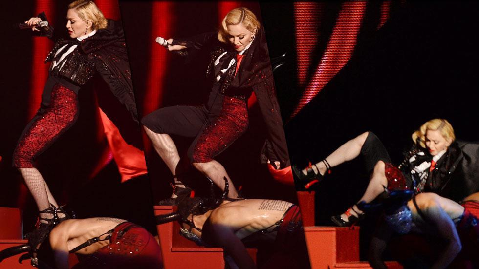 Madonna fall brit awards