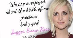 Ashlee simpson daughter jagger snow ross