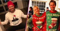 celebs ugly christmas sweaters pics pp 1