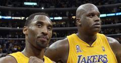 Kobe Bryant Denies Feud Shaquille O'Neal