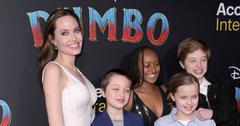 Angelina Jolie & Kids