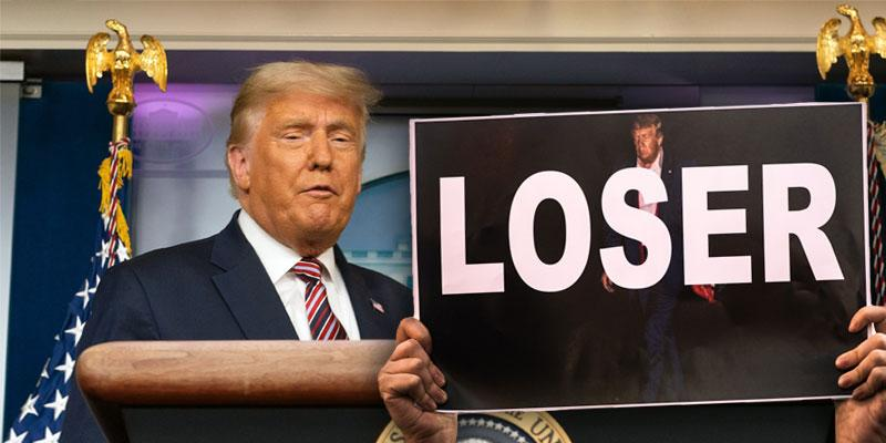 Donald Trump loser.com wikipedia