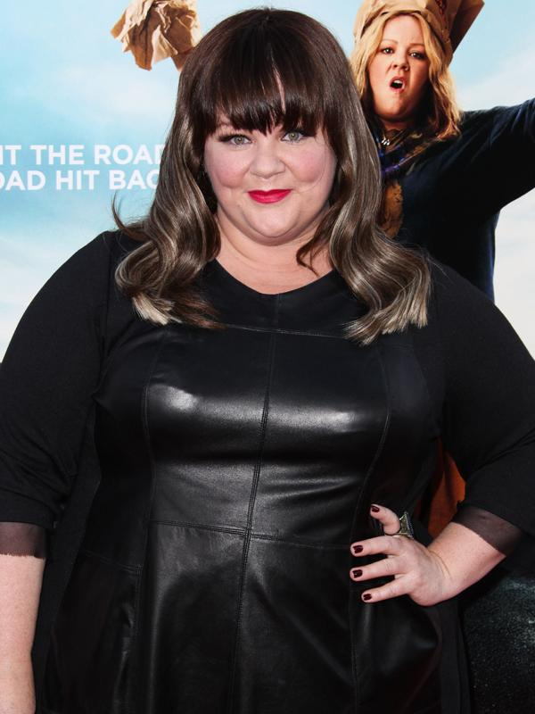 Melissa McCarthy arrives at the Los Angeles premiere of Warner Bros. Pictures' 'Tammy'