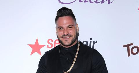 Ronnie Magro Jen Harley cops