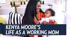 Kenya Moore Working Mom