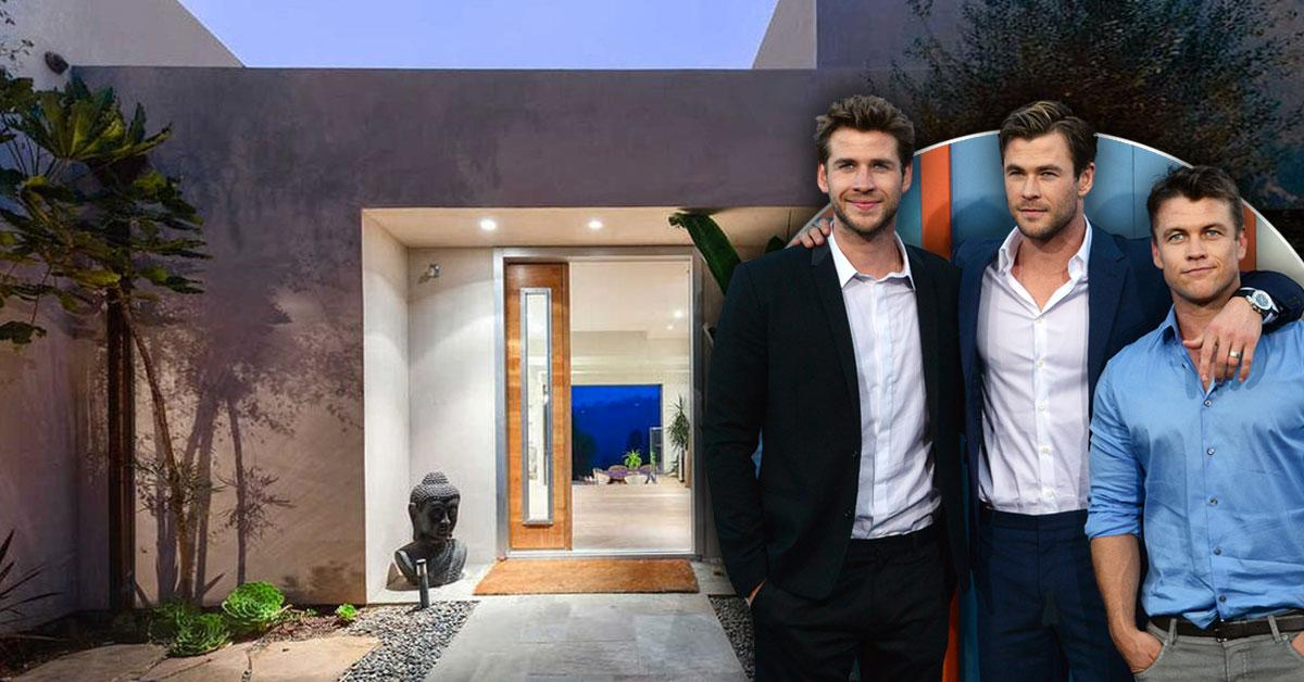Abandoning The USA? Aussie Hunks Chris, Liam & Luke Hemsworth Sell Their $4.2 Million Malibu Mansion: See Photos Inside