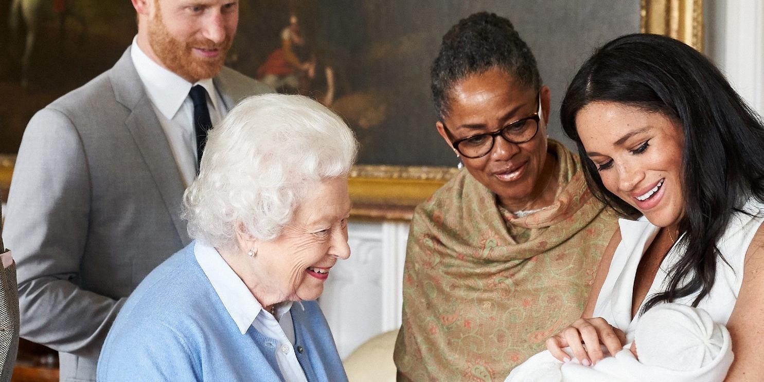 queen elizabeth prince harry meghan markle met lilibet via zoom