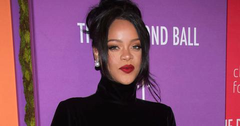 Rihanna Diamond Ball Pregnancy Rumors PP