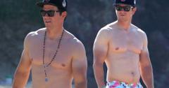 Mark Wahlberg Beach Body Vacation Hawaii