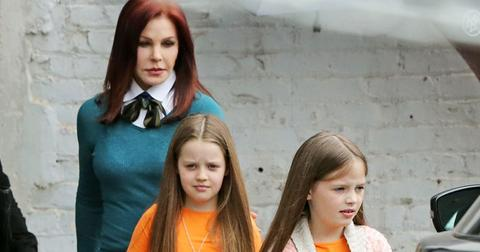 Priscilla Presley cares for Lisa Marie's twin girls amid divorce battle