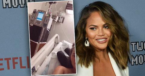 [Chrissy Teigen]'s 'Scary' Hospital Health Update After 'Huge' Blood Clot