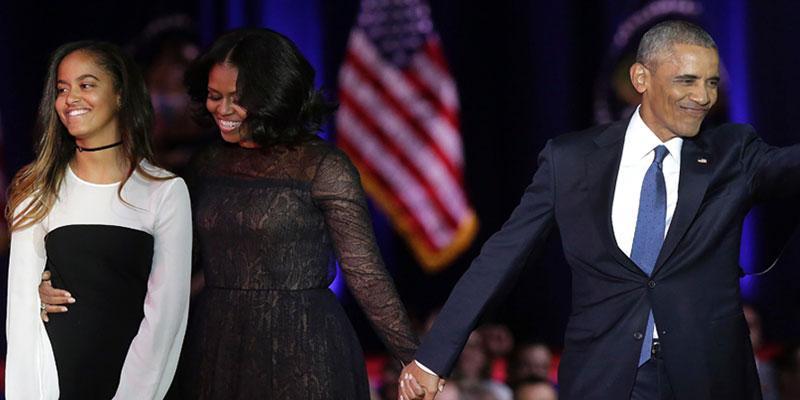 Michelle obama malia prom post pic