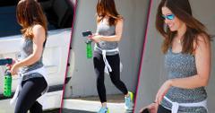 Jessica biel work out gym post baby body