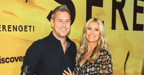 Ant Anstead and Christina Anstead at 'Jimmy Kimmel Live'