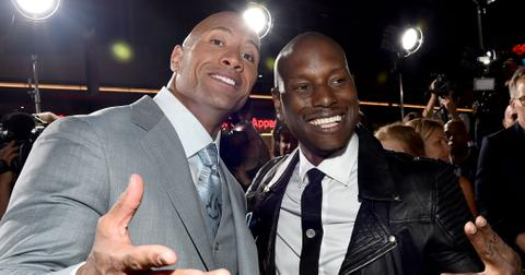 Tyrese Gibson The Rock Feud Online Over Fast And Furious hero