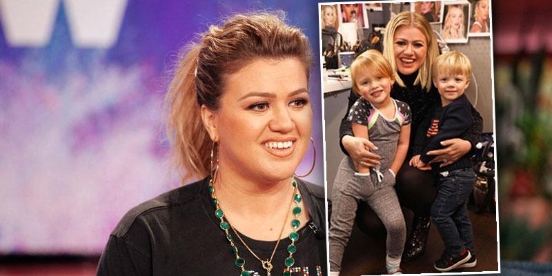 [Kelly Clarkson] Reveals Her 2 Kids Are In Therapy Amid Divorce: 'Everyone's Sad'