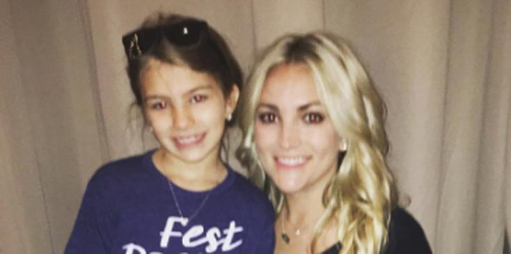 Jamie lynn spears maddie aldridge recovering after atv accident hero